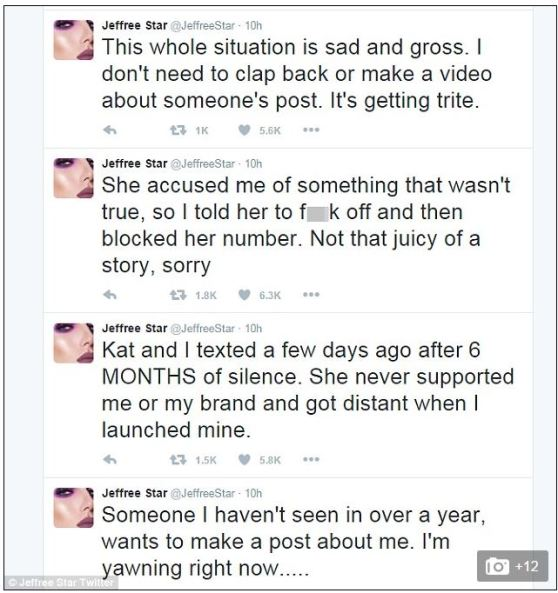 Star's tweets