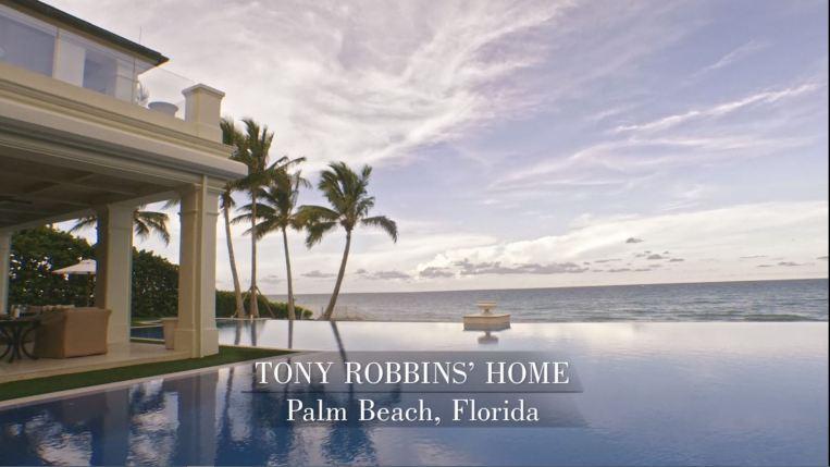 Robbins' home